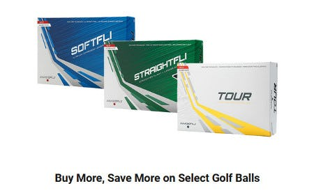 Buy More, Save More on Select Golf Balls from Dick's Sporting Goods