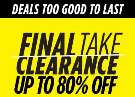 a4b735cd0f2 Sale at JCPenney. Up to 80% Off Final Take Clearance