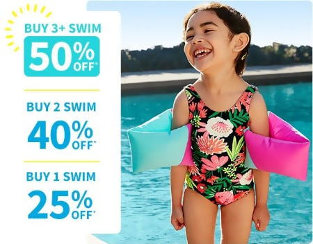 Up to 50% Off Swim from Carter's
