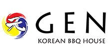 GEN Korean BBQ House Logo