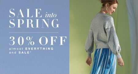 30% Off Almost Everything and Sale from BCBG