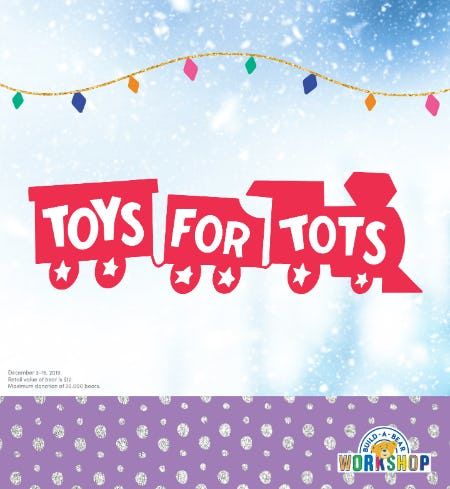 You Buy a Gift, We Give a Gift!  December 3-15, 2019 at Build-A-Bear Workshop® from Build-A-Bear Workshop