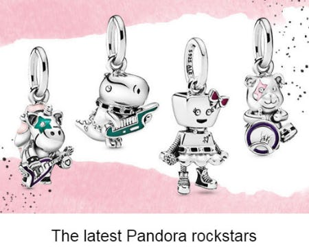 The Latest Pandora Rockstars
