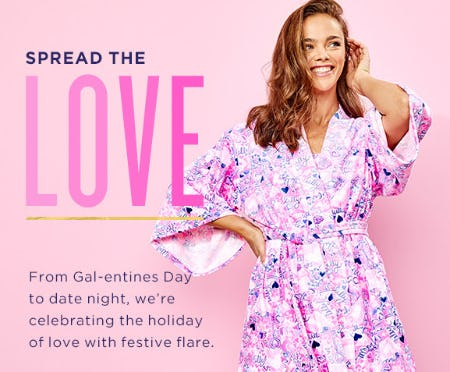 The Valentine's Capsule has Landed from Lilly Pulitzer