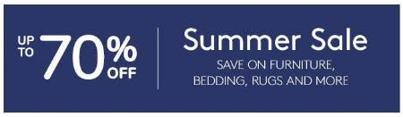Summer Sale up to 70% Off from Pottery Barn Kids