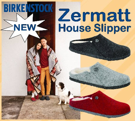 NEW: Birkenstock Zermatt from Tradehome Shoes