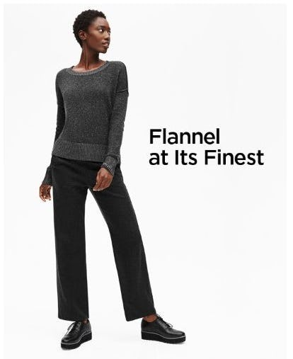 Exceptionally Soft Pants from Eileen Fisher