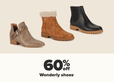 60% Off Wonderly Shoes from Belk