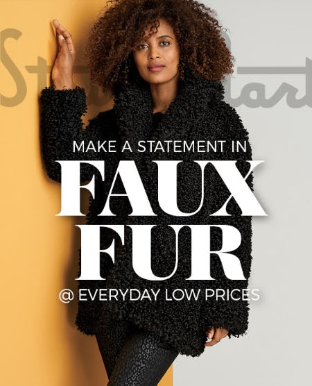 Introducing: Faux Fur from Stein Mart