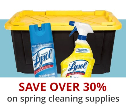 Save Over 30% on Spring Cleaning Supplies from Office Depot