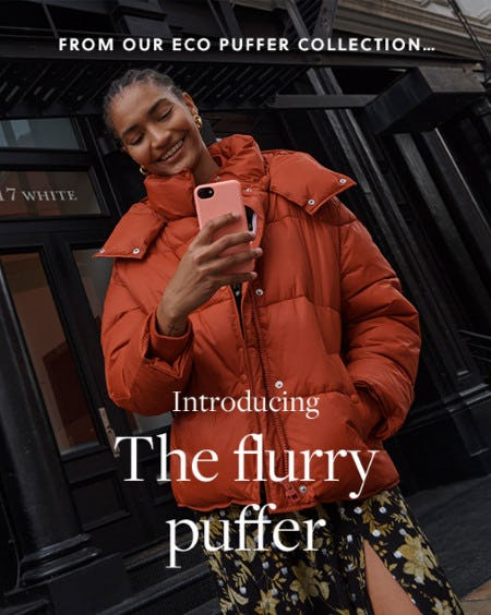 Introducing: The Eco Flurry Puffer from J.Crew