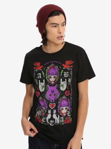 Babymetal Purple Fox T-Shirt