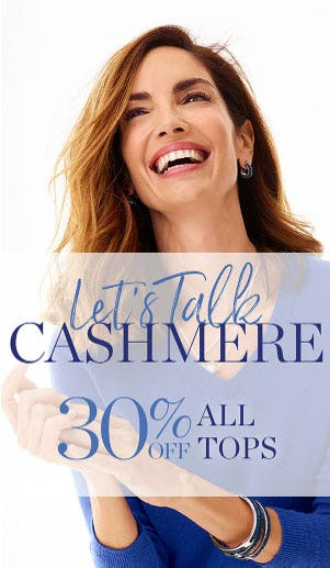 30% Off All Tops from Talbots Woman