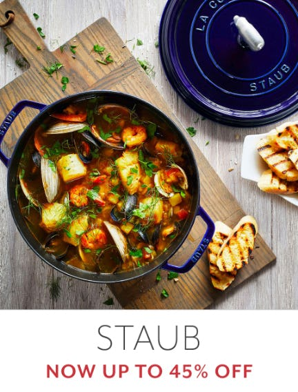 Up to 45% Off Staub from Sur La Table
