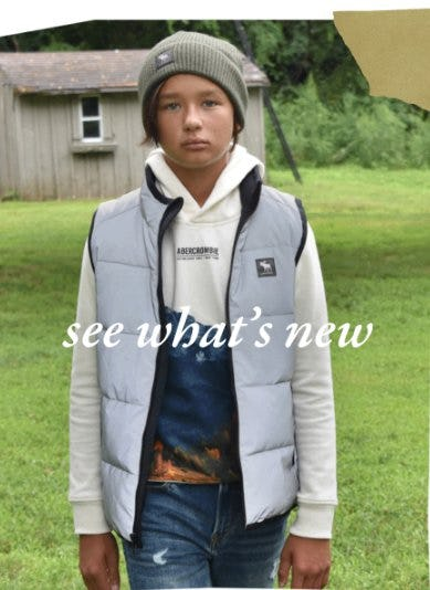 New  Arrivals for Fall from Abercrombie Kids