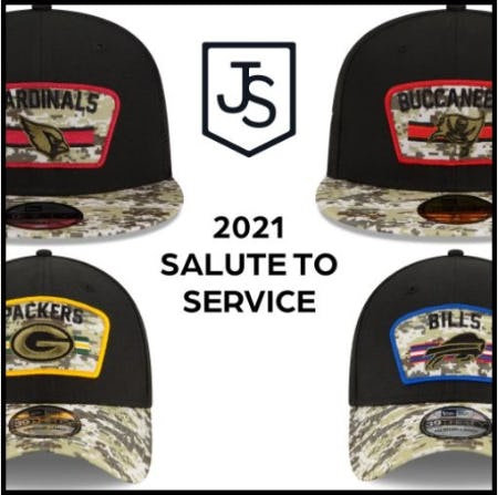 Salute To Service Headwear, Toasted 9FIFTYs and More