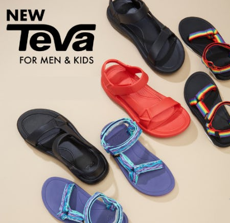Introducing New Teva for Men & Kids from EbLens Clothing and Footwear