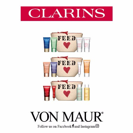 Clarins FEED Gift With Purchase