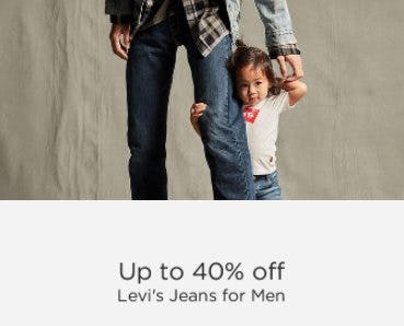 Up to 40% Off Levi's Jeans for Men from Sears