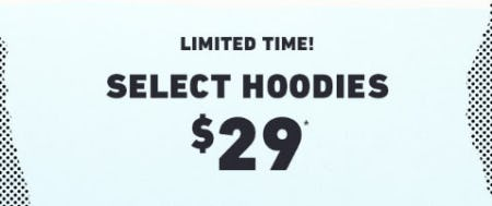 $20 Select Hoodies from Hollister Co.