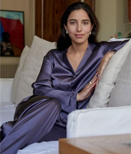 Violet Silk Sleepwear from La Perla