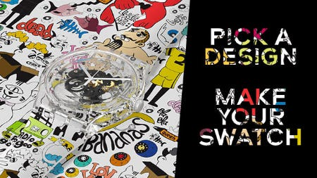 Express Yourself with Swatch X You from Swatch