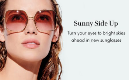 Sunny Side Up from Neiman Marcus