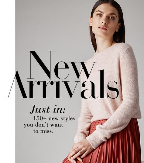 Shop Our New Arrivals from Saks Fifth Avenue