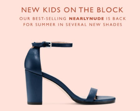 New Kids on the Block from STUART WEITZMAN