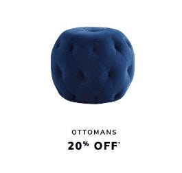 20% Off Ottomans from Pier 1 Imports