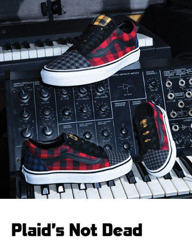 Plaid's Not Dead from Foot Locker And/Or Lady Foot L
