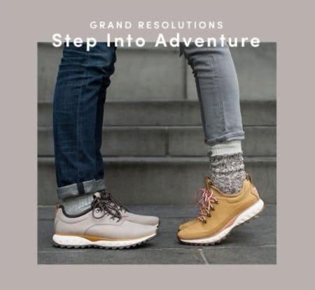 New All-Terrain Sneakers