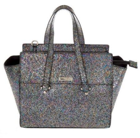 Metallic Satchel Crossbody Bag from Icing