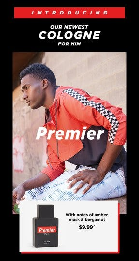 Introducing Our Newest Cologne: Premier