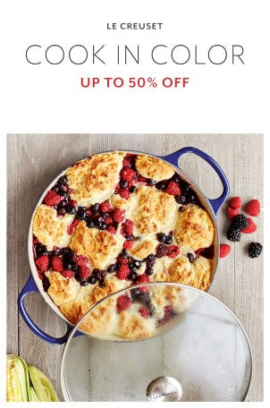 Up to 50% Off Le Creuset from Sur La Table