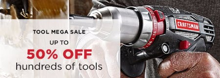 Tool Mega Sale up to 50% Off