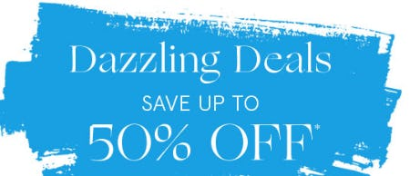 Dazzling Deals Save Up To 50% Off