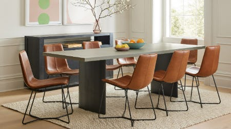 Campbell Plinth Dining Table