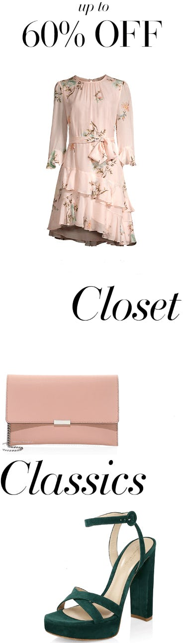 Up to 60% Off Closet Classics from Saks Fifth Avenue