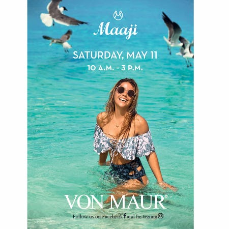 Maaji Fun Event from Von Maur