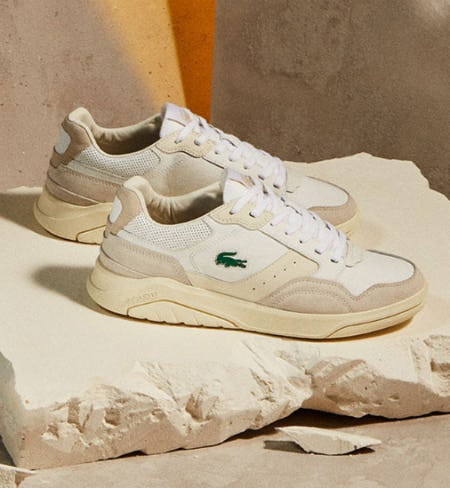 The New Game Advance Luxe Sneakers from Lacoste