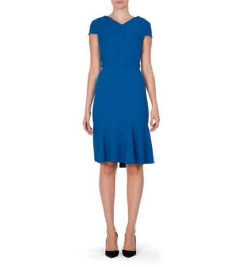 Roland Mouret Edwin Embellished Dress