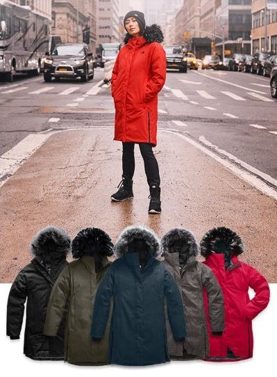 Trending Parkas that Are Back in Stock from The North Face