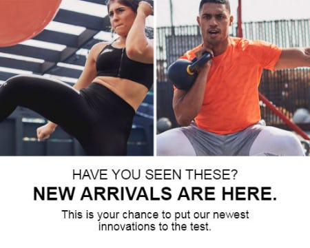 New Arrivals are Here from Under Armour