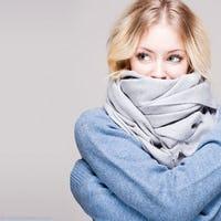 Four Chic Ways to Wear a Scarf