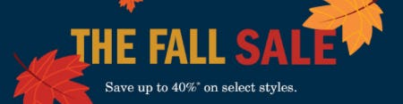 The Fall Sale from Johnston & Murphy