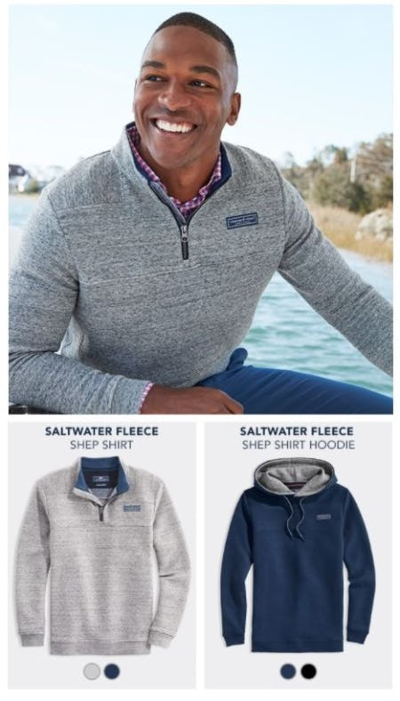 The Salt Water Fleece Collection