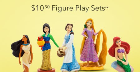 $10.50 Figure Play Sets from PAPYRUS