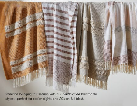 Throws for a Summer Breeze