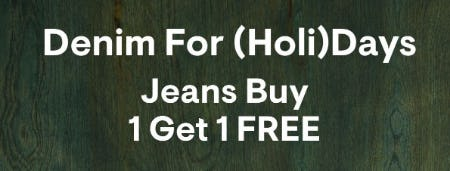 Jeans Buy 1 Get 1 Free from Aéropostale